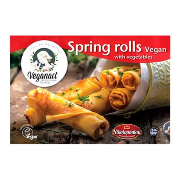 Spring Rolls Λαχανικών 360γρ, Ελληνικά, Εργαστήρι Νικολόπουλου