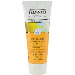 Lavera Αντηλιακή Κρέμα SPF30 για Ευαίσθητο Δέρμα 75ml, Βιολογική