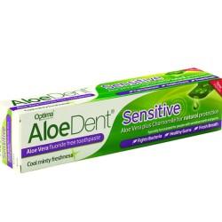 Οδοντόκρεμα Sensitive AloeDent 100ml Optima