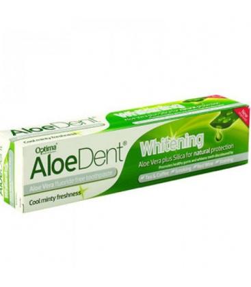 Οδοντόκρεμα Whitening AloeDent 100ml Optima