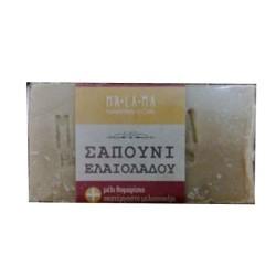 Σαπούνι με Μέλι & Μελισσοκέρι 135γρ Malama