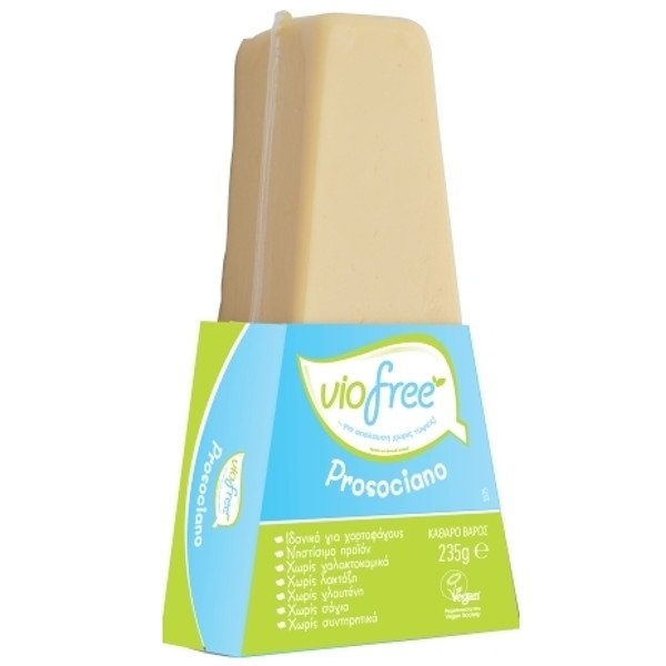 Τυρί Prosociano με Γεύση Παρμεζάνας 235γρ Viofree