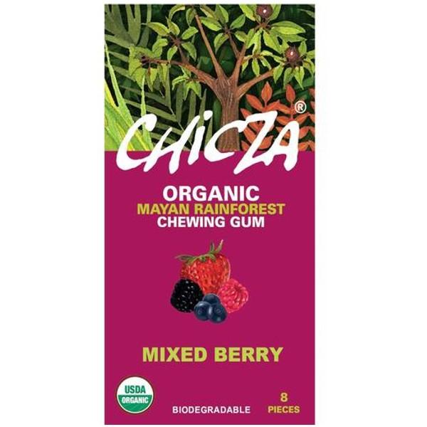 Βιολογική Τσίχλα με Άρωμα Μούρων 15γρ Bio Chicza