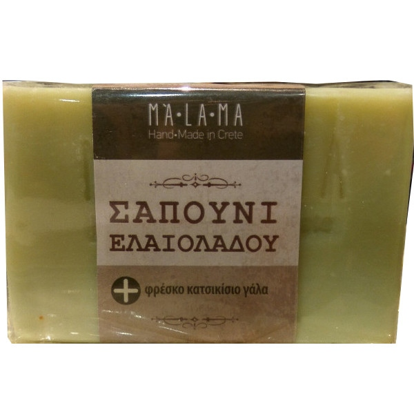 Σαπούνι με Κατσικίσιο Γάλα 135γρ Malama