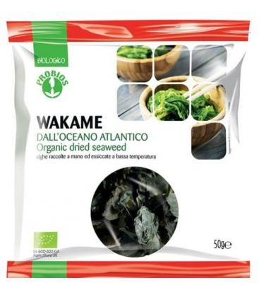 Βιολογικά Φύκια Wakame 50γρ Bio Probios