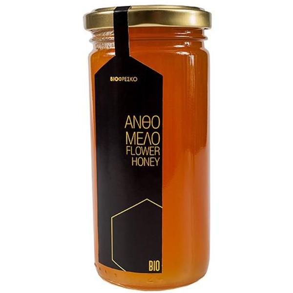 Βιολογικό Μέλι Ανθέων 330γρ Bio Βιοφρέσκο