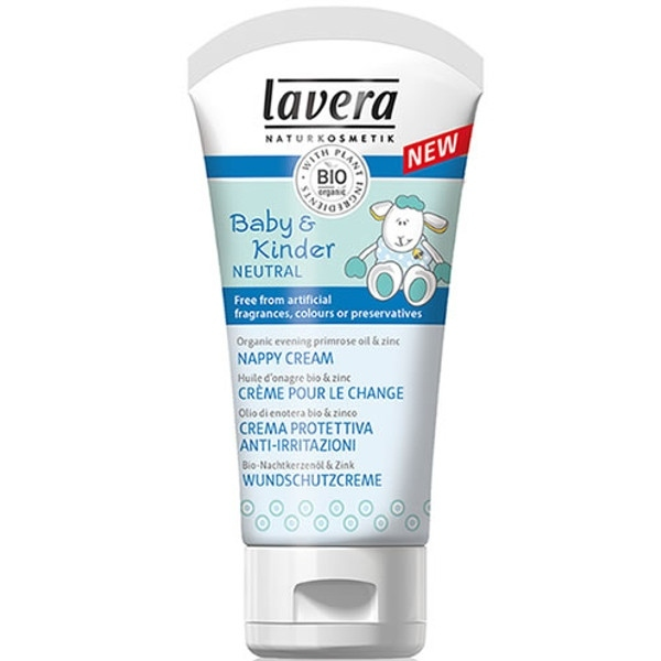 Lavera Κρέμα Αλλαγής Πάνας Baby & Kinder Neutral 50ml, Βιολογική