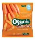 Βιολογικά Τραγανά Μπαστουνάκια Καρότου Bio 20γρ., Organix
