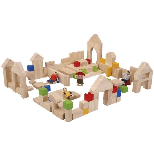 Σετ Κατασκευών Α' Plantoys Οικολογικό, Ξύλινο, Εκπαιδευτικό Παιχνίδι.