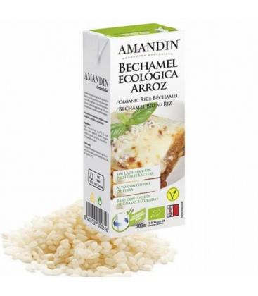 Βιολογική Μπεσαμέλ Ρυζιού 200ml Bio Amandin