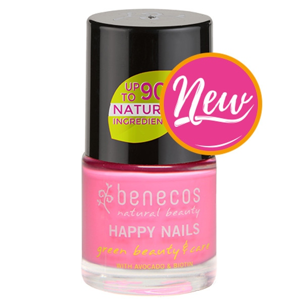 Βερνίκι Νυχιών Pink For Ever 9ml Benecos