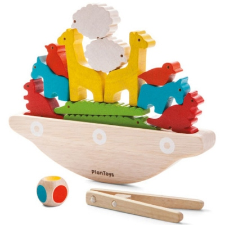 Βάρκα Ισορροπείας Plantoys Οικολογικό, Ξύλινο, Εκπαιδευτικό Παιχνίδι