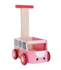 Περπατούρα Φορτηγάκι Ροζ Plantoys Οικολογικό, Ξύλινο, Εκπαιδευτικό Παιχνίδι