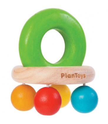 Κουδουνίστρα Καμπάνα Plantoys Οικολογικό, Ξύλινο, Εκπαιδευτικό Παιχνίδι