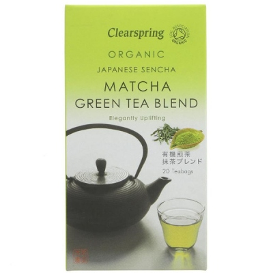 Βιολογικό Τσάι Μάτσα Ιαπωνίας 40γρ Bio 20 Φακελάκια Clearspring