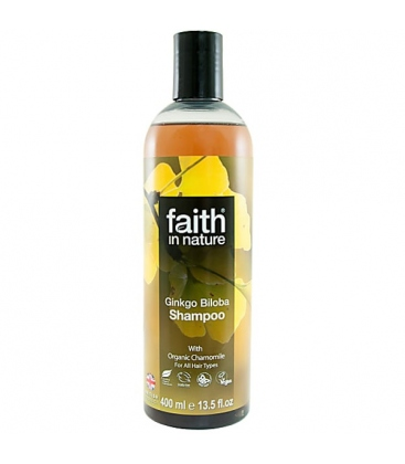 Σαμπουάν με Ginkgo Biloba 400ml Faith in Nature