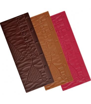 Βιολογική Σκούρη Σοκολάτα 65% Tongo Vegan Βio 70γρ Labooko Zotter