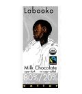 Βιολογική Σοκολάτα με 80% Κακάο & 20% Γάλα Bio 65γρ Labooko Zotter
