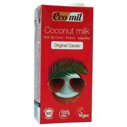 Βιολογικό Ρόφημα Καρύδας με Κακάο 1lt Bio Ecomil