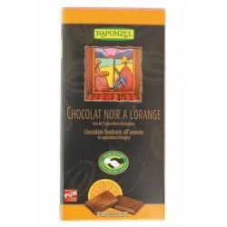 Βιολογική Μαύρη Σοκολάτα 80γρ Bio Rapunzel