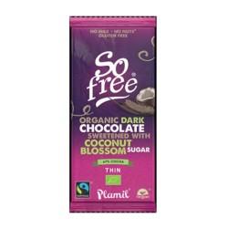 Βιολογική Σοκολάτα Υγείας με Ζάχαρη Καρύδας Βio 80γρ Plamil