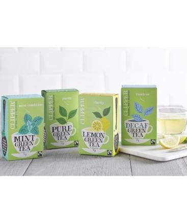 Βιολογικό Πράσινο Τσάι 80 Φακελάκια Bio Clipper
