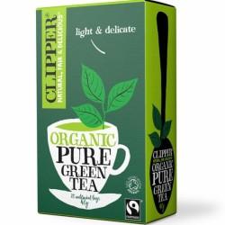 Βιολογικό Πράσινο Τσάι Pure 20 Φακελάκια Bio Clipper
