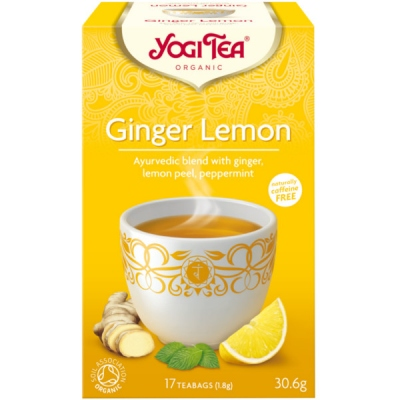 YOGI TEA GINGER ΛΕΜΟΝΙ 30GR