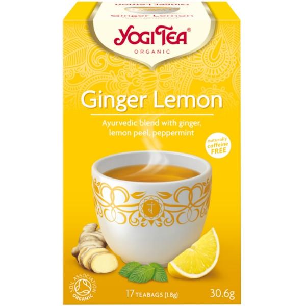 Βιολογικό Τσάι με Τζίντζερ (Ginger) & Λεμόνι 30,6γρ Bio Yogi Tea