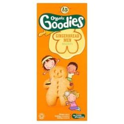 Βιολογικά Παιδικά Μπισκοτάκια GingerBread Bio 135γρ., Organix