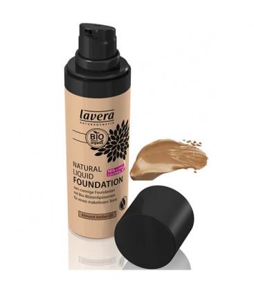 Βιολογικό Φυσικό Yγρό Make-up Nο4 Almond 30ml, Lavera