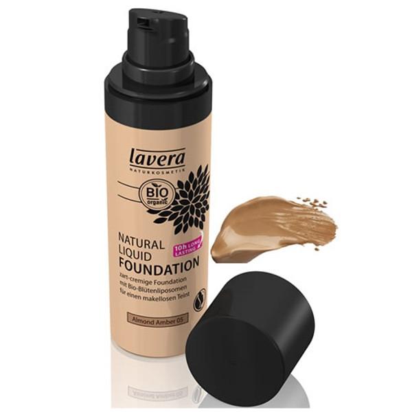Lavera Φυσικό Yγρό Make-up Nο4 Honey beige 30ml, Βιολογικό