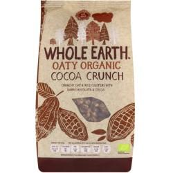 Βιολογικά Δημητριακά Cοcoa Crunchy Bio 375γρ., Whole Earth