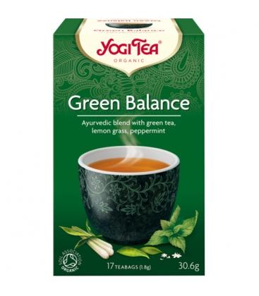 Βιολογικό Τσάι Green Balance 30.6gr Bio Yogi Tea