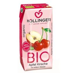 Βιολογικός Χυμός από Μήλο & Κεράσι 200ml Bio Hollinger