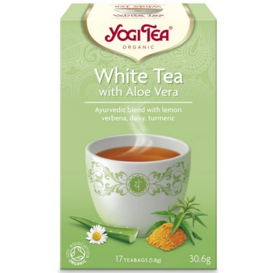Βιολογικό Λευκό Τσάι με Αλόη 17 Φακελάκια Bio Yogi Tea