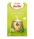 Τσάι με Lime & Μέντα 30γρ Yogi Tea
