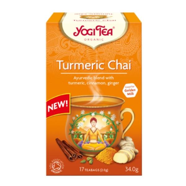 Βιολογικό Τσάι με Κουρκουμά (Tumeric) 34gr Bio Yogi Tea