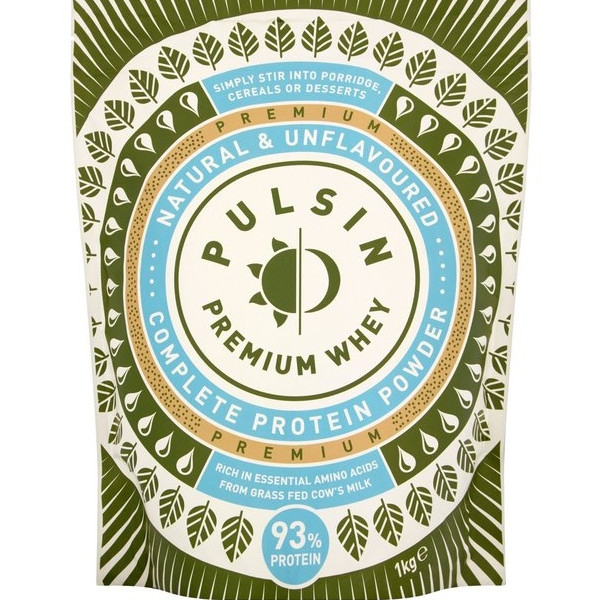 Πρωτεΐνη Ορού Γάλακτος 1 κιλό, Pulsin