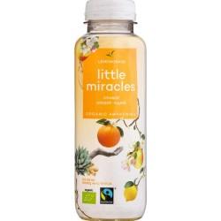 Βιολογικό Κρύο Τσάι με Λεμονόχορτο Τζινσενγκ & Πορτοκάλι Bio 330ml Little Miracles, Powershot