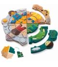 Πάζλ με Εποχές Plantoys Ξύλινο, Εκπαιδευτικό, Οικολογικό Παιχνίδι