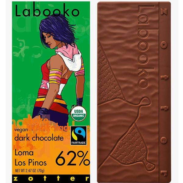 Σοκολάτα Βιολογική με 62% Κακάο Loma Los Pinos Bio 70γρ Zotter