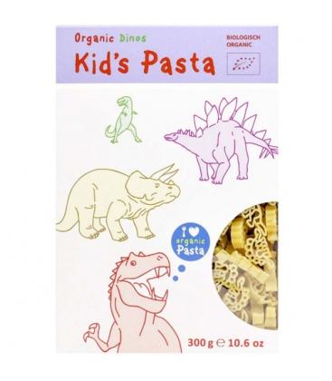 Βιολογικά Παιδικά Ζυμαρικά Dinos Βio 300 γρ. Alb-Gold