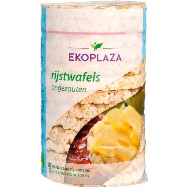 Βιολογικές Ρυζογκοφρέτες Χωρίς Αλάτι 100 γρ. Bio Ekoplaza