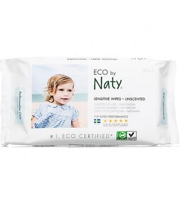 Μωρομάντηλα Χωρίς Άρωμα 56 Τεμάχια Naty