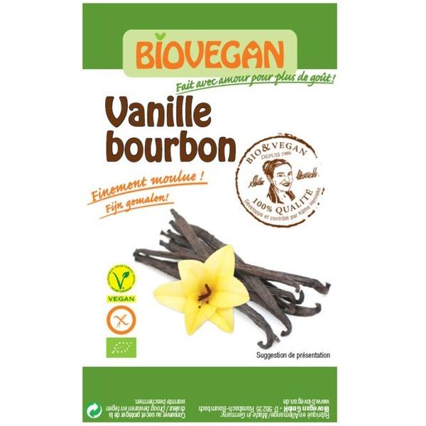 Βιολογική Βανίλια Μπέρμπον Μαδαγασκάρης Βio 5 γρ. Biovegan