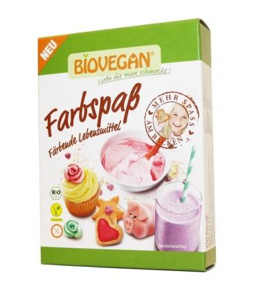 Βιολογικά Χρωματάκια Ζαχαροπλαστικής Βio 5Χ8 γρ. Biovegan