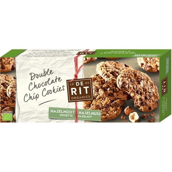 Βιολογικά Μπισκότα (Cookies) με Διπλή Σοκολάτα 175 Γρ. De Rit