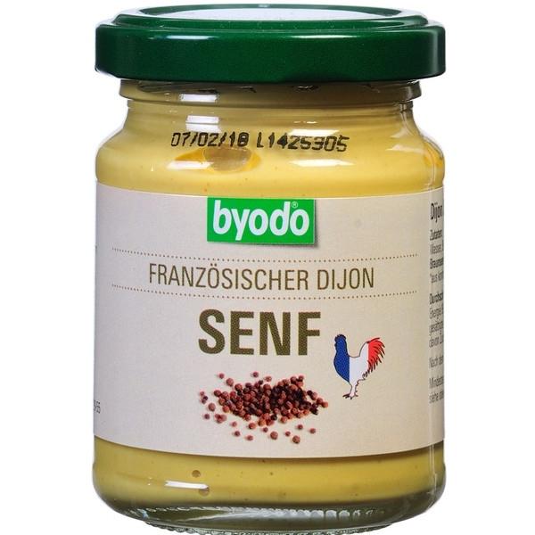 Βιολογική Μουστάρδα Dijon 125 ml Βio Byodo