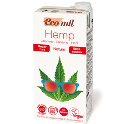 Βιολογικό Ρόφημα Κάναβης Φυσική Γεύση 1 λίτρο Bio Ecomil